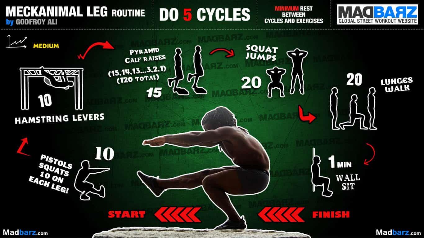 Meckanimal Leg Routine